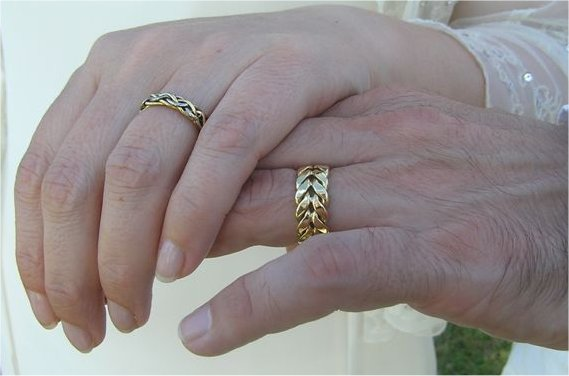 Wedding Ring Designs Vin Bootle individual jewellery Celtic and